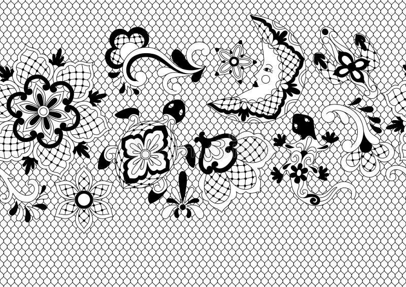 Mexicaans kant naadloos patroon vector illustratie