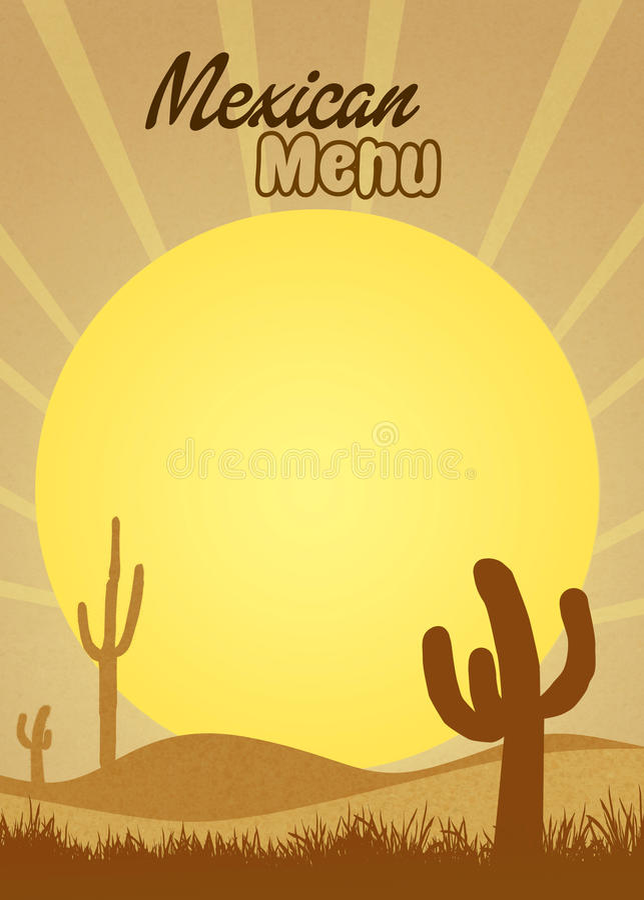 Download Mexicaans menu stock illustratie. Illustratie bestaande uit mariachi - 54083035