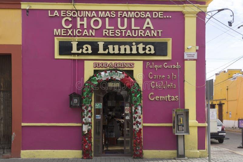 Mexicaans Restaurant royalty-vrije stock afbeeldingen