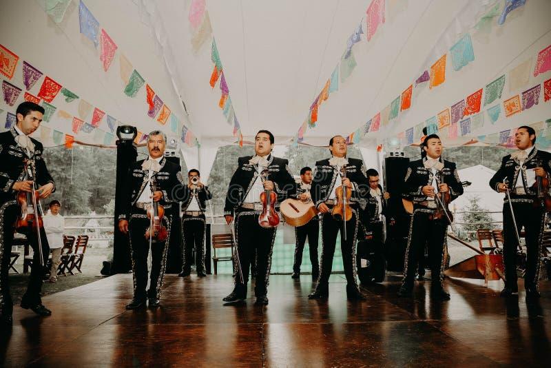 Mexicaans Stijlhuwelijk voor iedereen royalty-vrije stock foto's