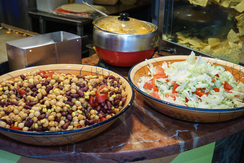 Mexicaans voedsel stock foto