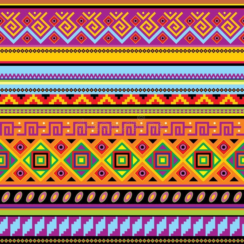 Mexicaanse achtergrond vector illustratie