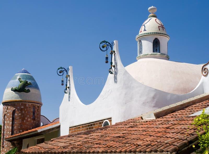 Mexicaanse Architectuur royalty-vrije stock afbeeldingen