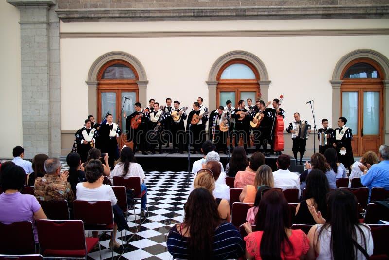 Mexicaanse Band van Studenten royalty-vrije stock foto