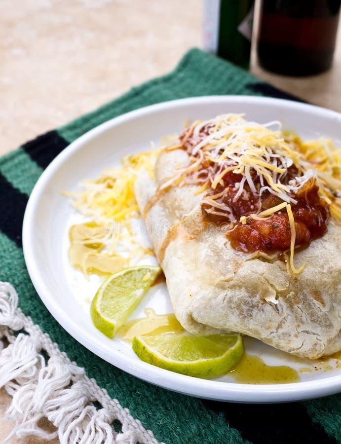 Mexicaanse Burrito   stock afbeelding