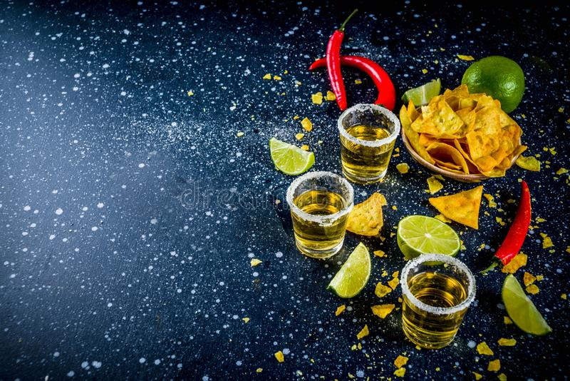 Mexicaanse cocktail voor Cinco de Mayo royalty-vrije stock foto