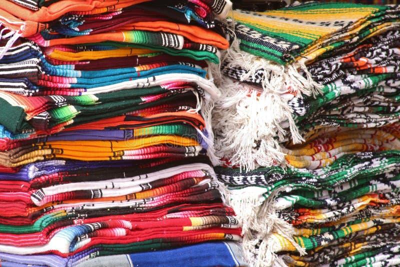 Mexicaanse dekens royalty-vrije stock afbeeldingen