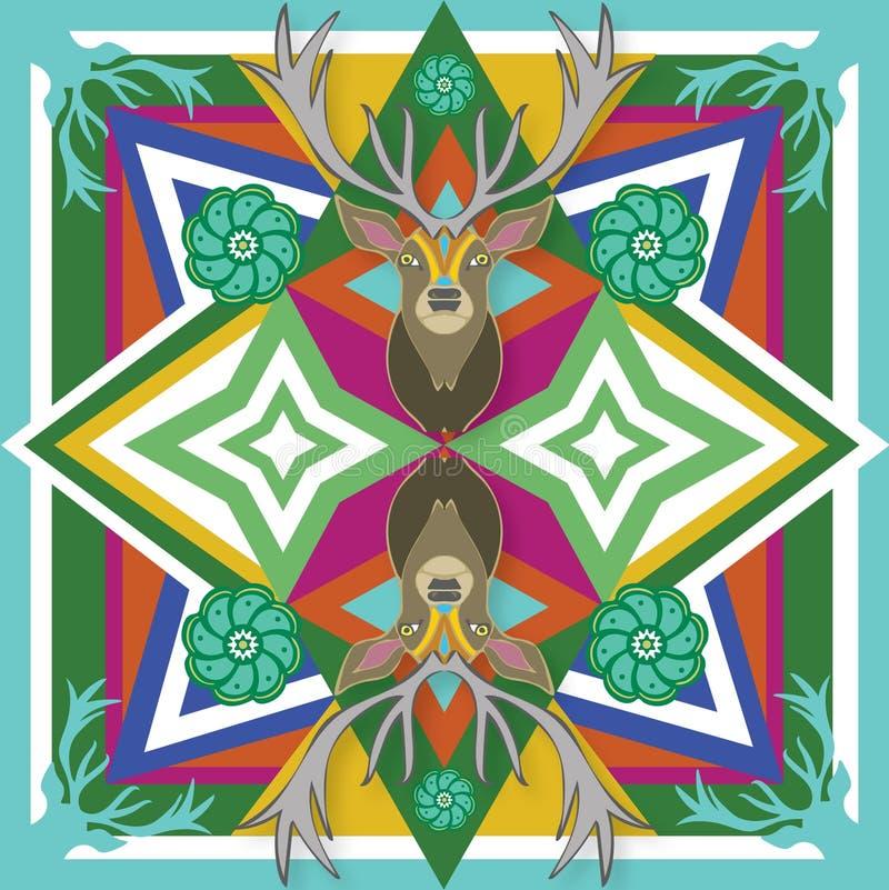 Mexicaanse Drukherten vector illustratie