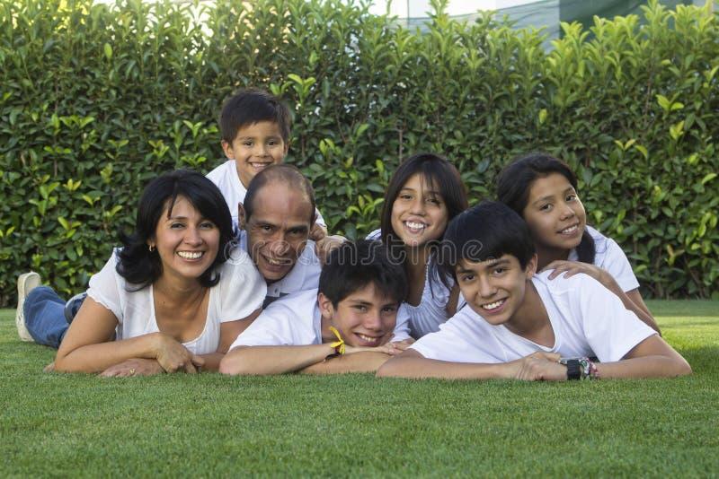 Mexicaanse Familie 3 royalty-vrije stock afbeelding