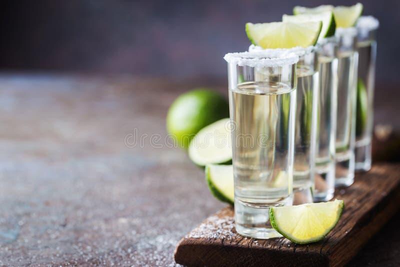 Mexicaanse Gouden Tequila stock fotografie