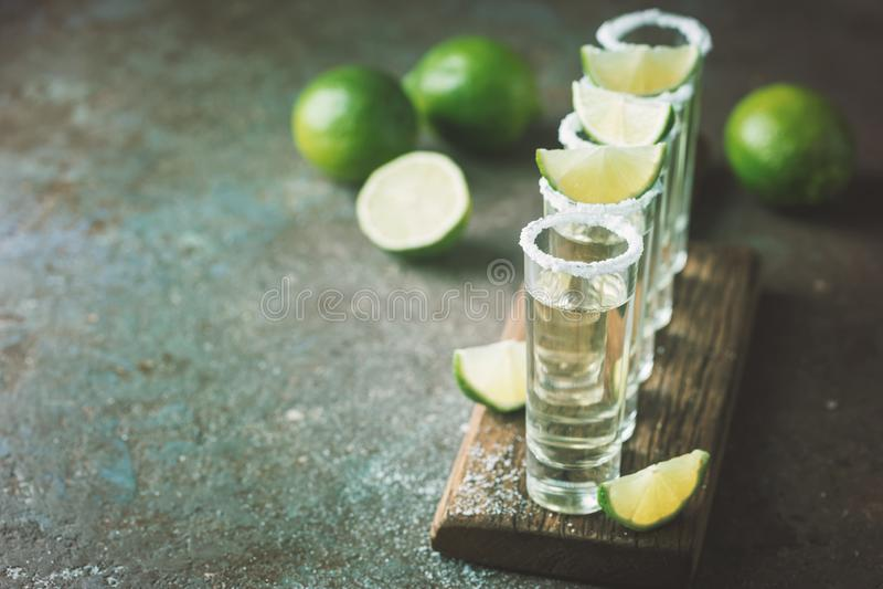 Mexicaanse Gouden Tequila royalty-vrije stock foto