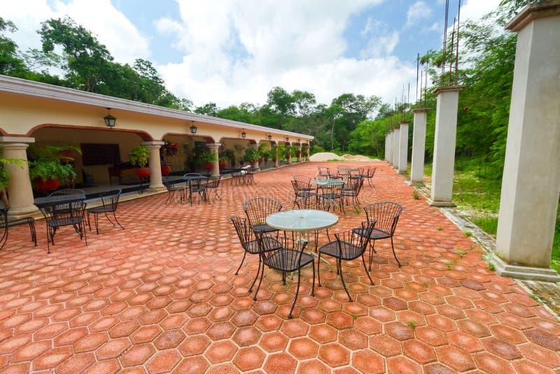 Mexicaanse hacienda royalty-vrije stock foto