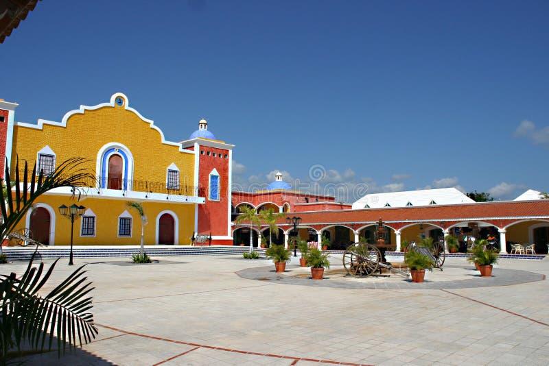 Mexicaanse Hacienda stock fotografie