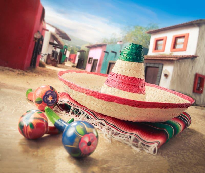 Mexicaanse hoed royalty-vrije stock foto's