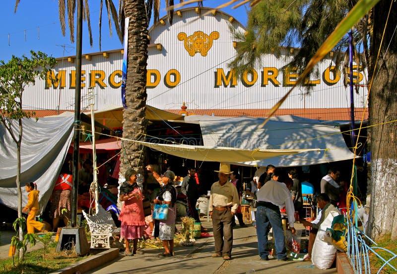 Mexicaanse Markt Farmer´s stock afbeelding