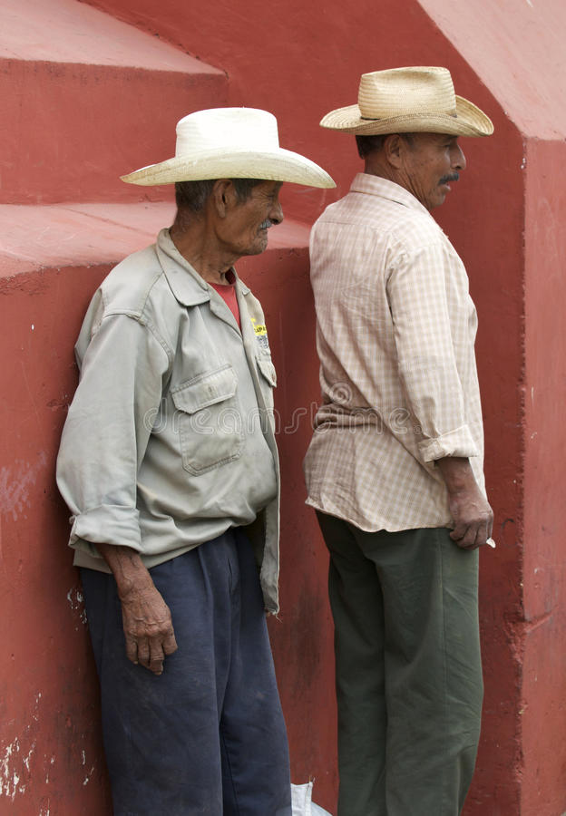 Mexicaanse Migrerende Arbeiders royalty-vrije stock afbeelding