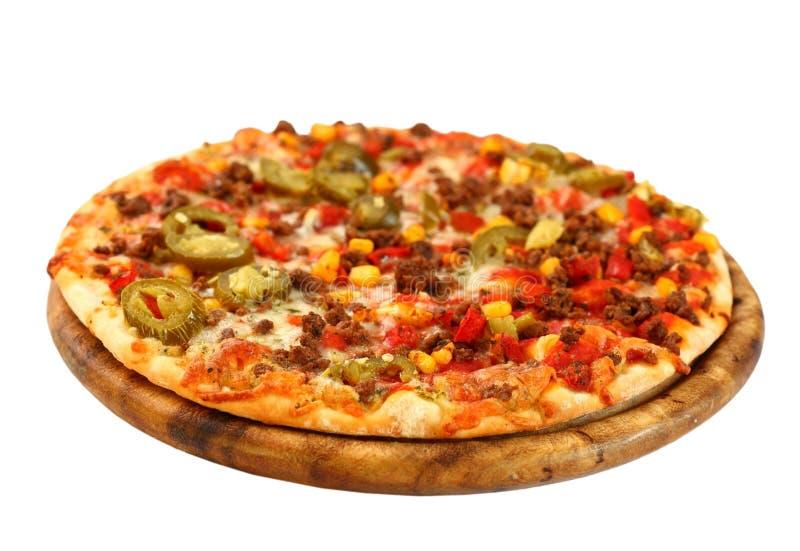 Mexicaanse pizza royalty-vrije stock foto's