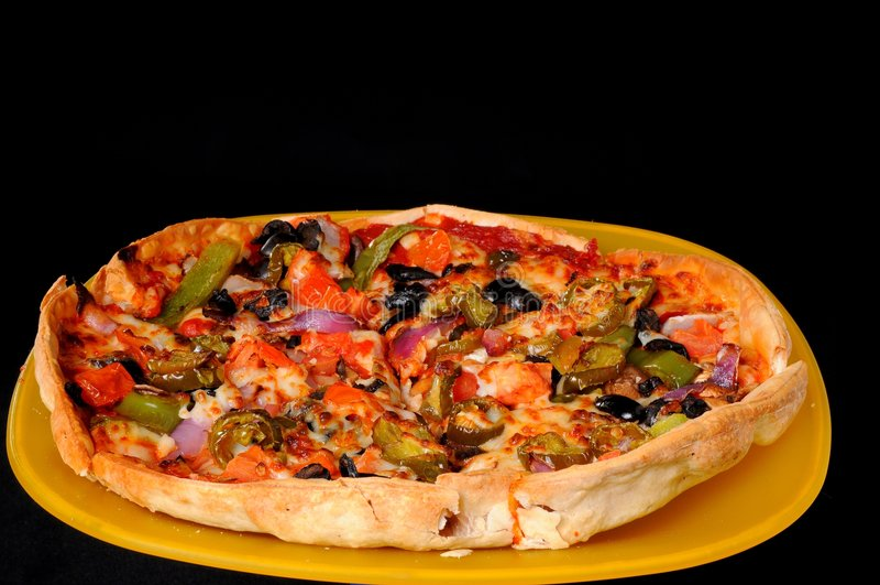 Mexicaanse Pizza royalty-vrije stock afbeeldingen