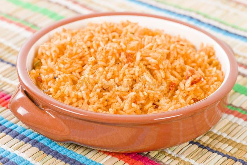 Mexicaanse rijst stock afbeelding