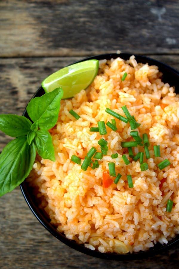 Mexicaanse rijst royalty-vrije stock foto