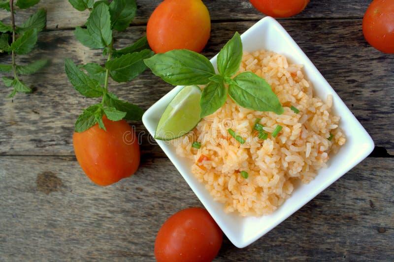 Mexicaanse rijst stock afbeeldingen