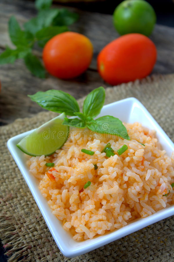 Mexicaanse rijst royalty-vrije stock afbeeldingen