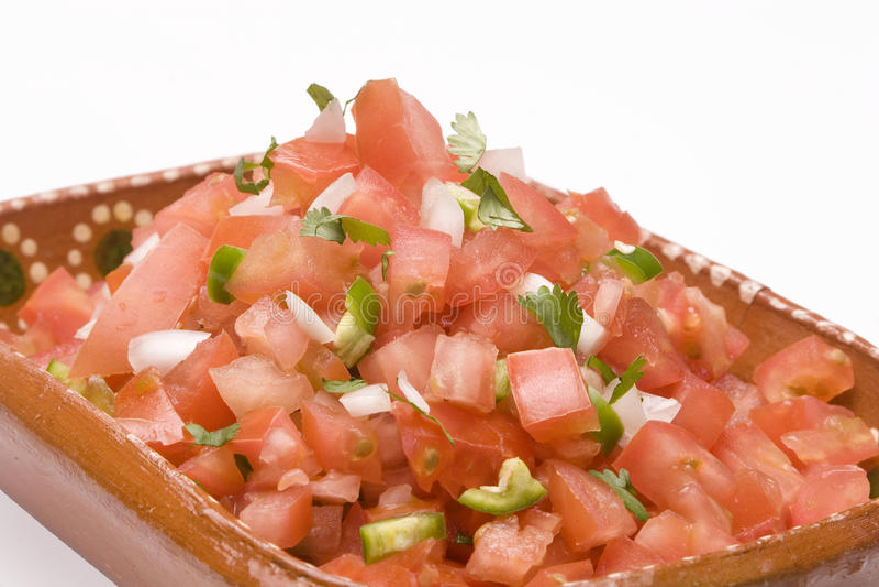 Mexicaanse saus stock afbeelding