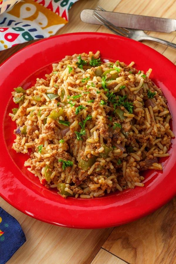 Mexicaanse Stijl Spaanse Rijst stock afbeelding