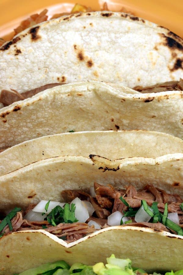 Mexicaanse taco's royalty-vrije stock foto