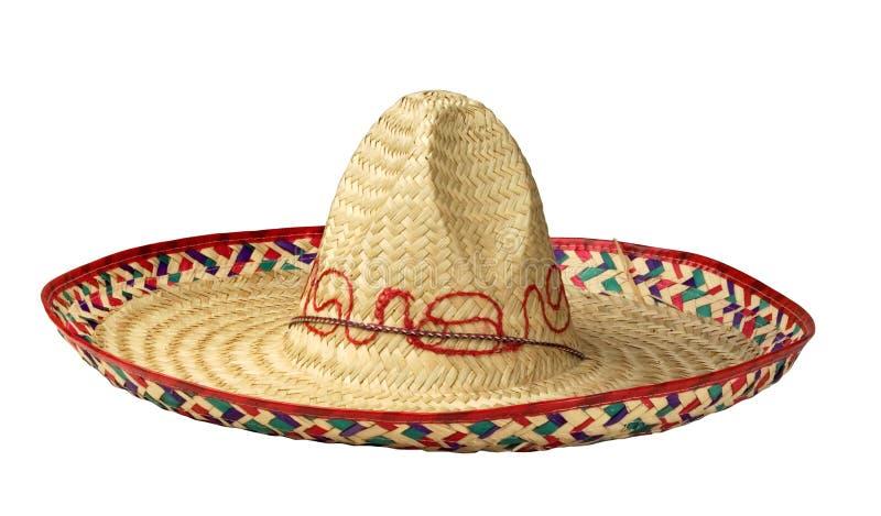Mexicaanse typische hoed stock afbeeldingen
