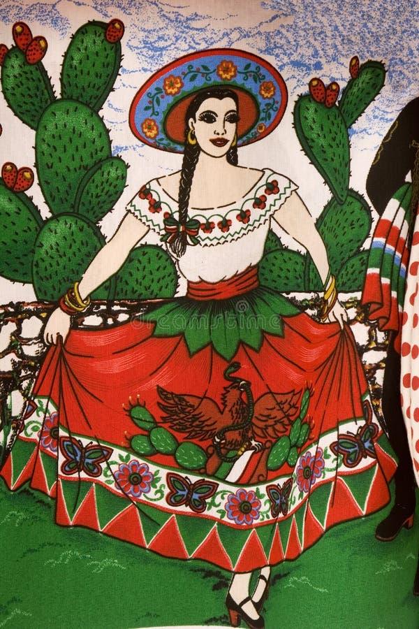 Mexicaanse vrouw stock fotografie