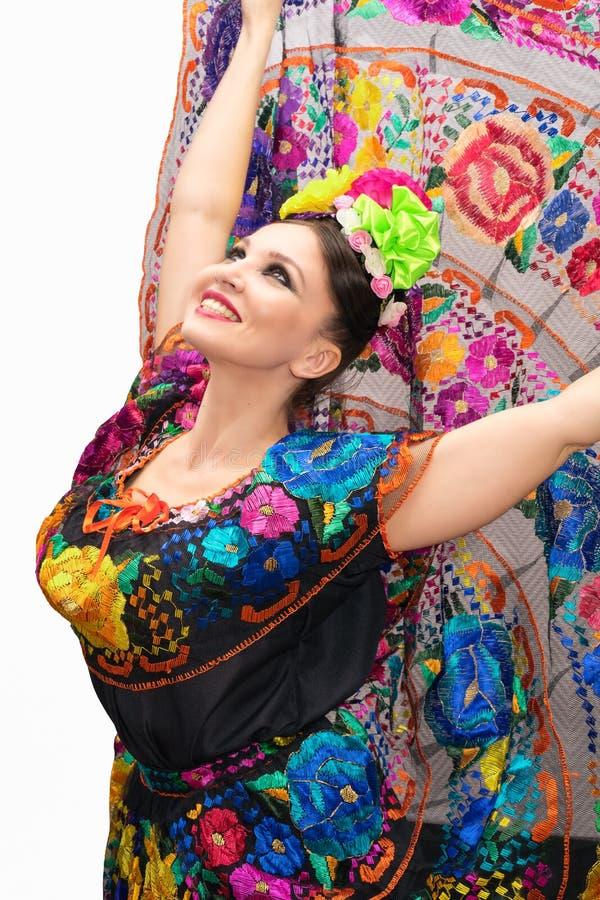 Mexicaanse Vrouw royalty-vrije stock afbeeldingen