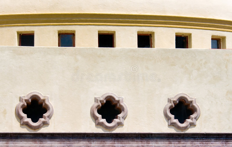 Download Mexican Architecture stock image. Image of window, baroque - 6317983