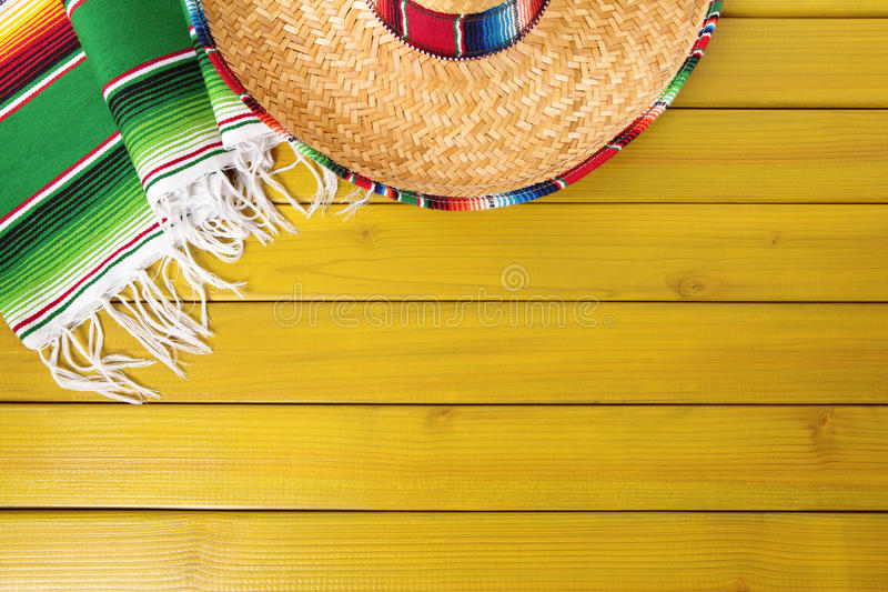 Mexico mexican background sombrero wood copy space stock for Mexican themed powerpoint template