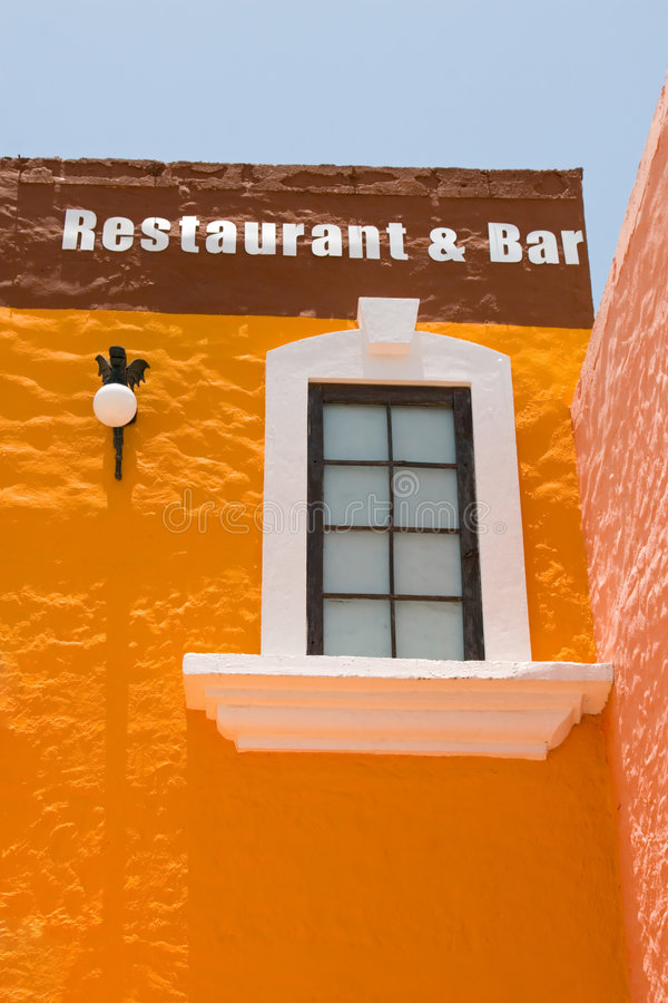 Download Mexican Bar Building stock photo. Image of mexican, meal - 2892728