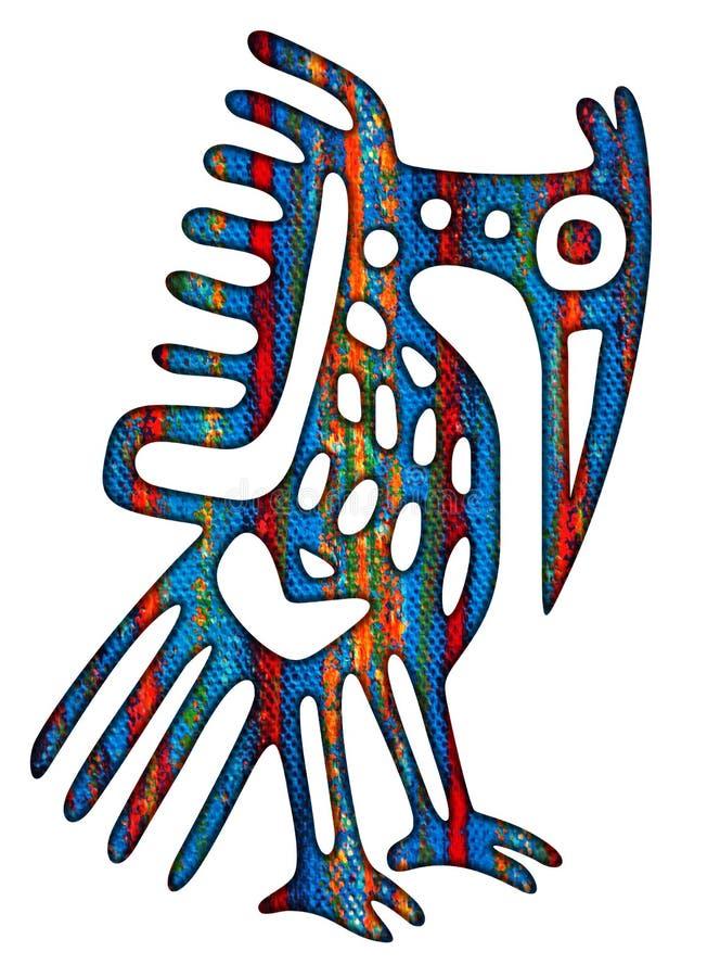 Mexican Bird (Eagle) Illustration vector illustration
