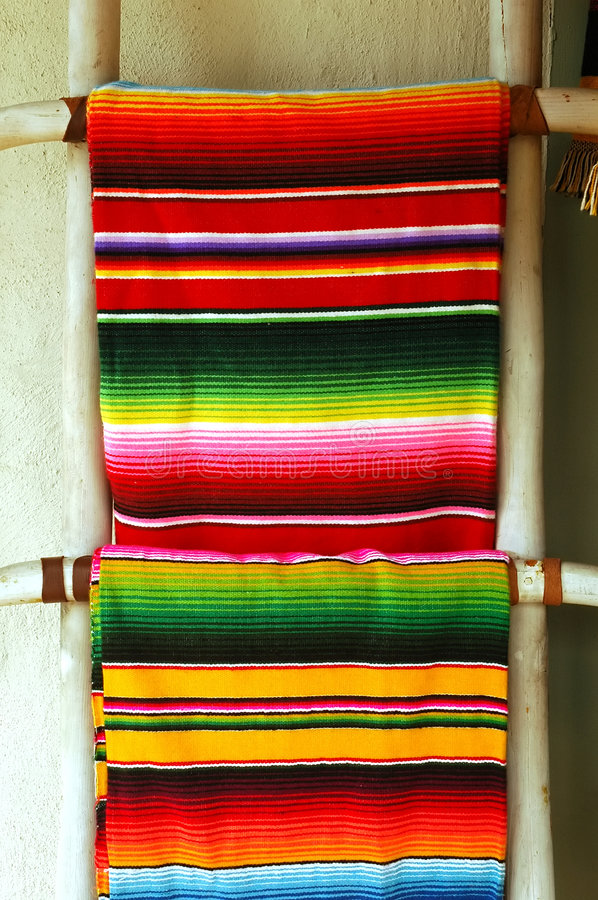 Mexican Blankets Stock Images