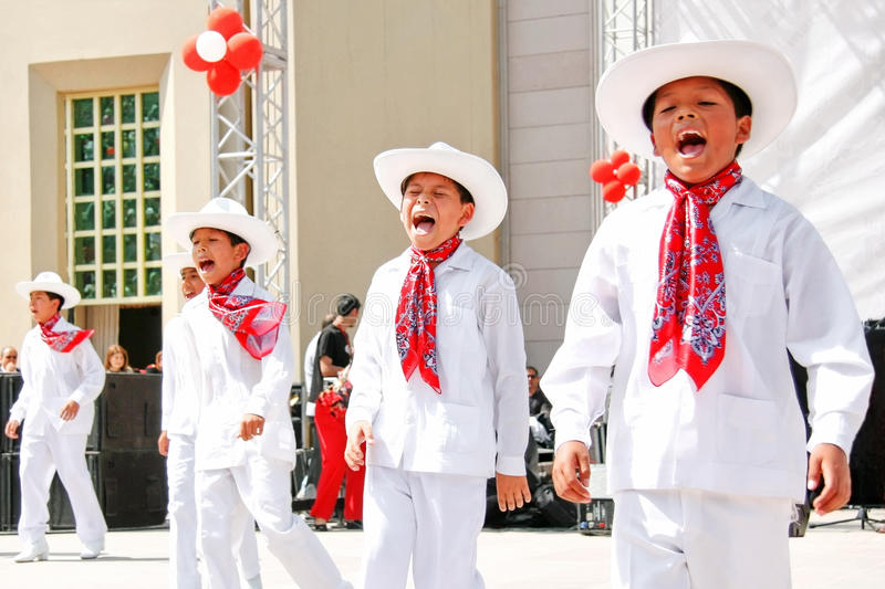 Download Mexican boys editorial stock image. Image of performer - 19012879
