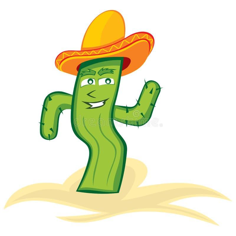 Download Mexican cactus stock vector. Image of cactus, vector - 26556036
