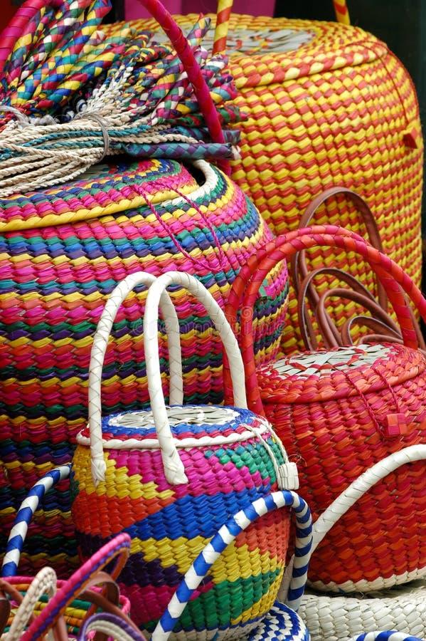 Mexican canasta royalty free stock photos