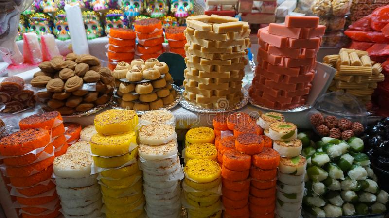 Mexican candies royalty free stock images