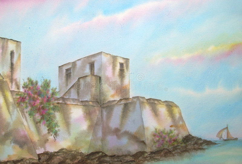 Download Mexican Caribbean Fortress Royalty Free Stock Images - Image: 3049629