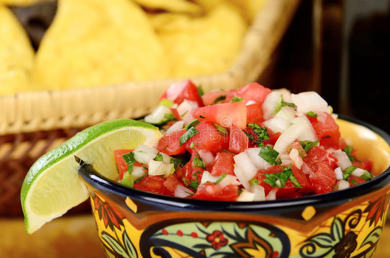 Mexican Chips stock photography