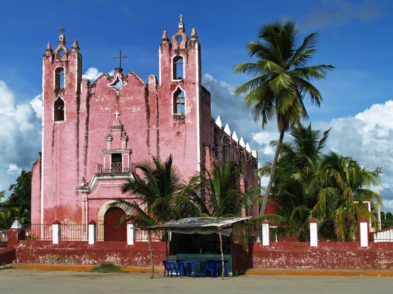 Mexican church stock photos