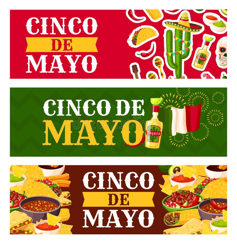 Mexican cinco de mayo holiday food greeting banner stock vector download mexican cinco de mayo holiday food greeting banner stock vector illustration of holiday m4hsunfo Image collections