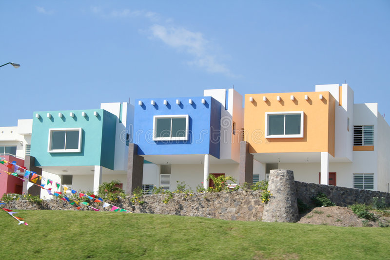 Mexican condos stock images