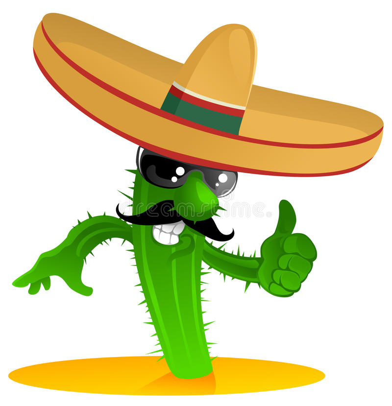 Free Mexican Cool Cactus Stock Photos - 15285313