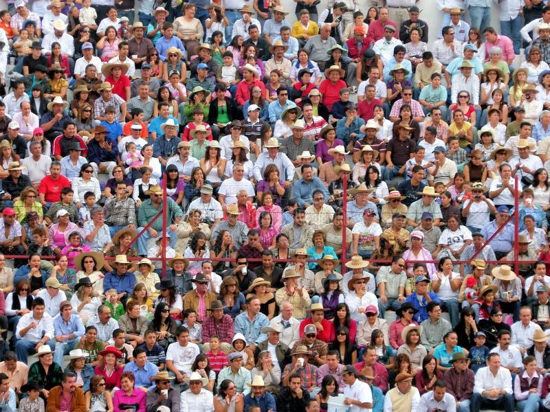 Mexican crowd stock photos