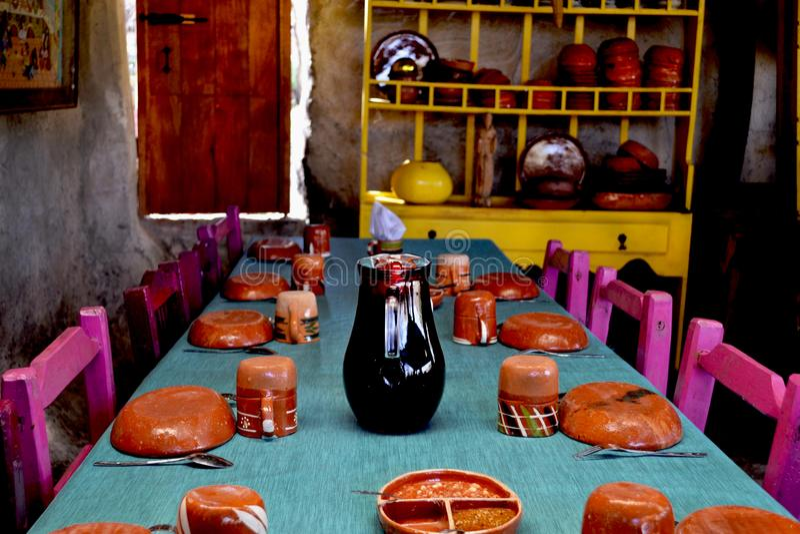 Mexican kitchen. royalty free stock photos