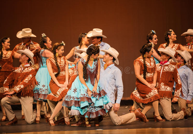 Mexican dance stock images